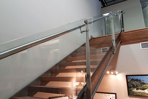 glass rail systems